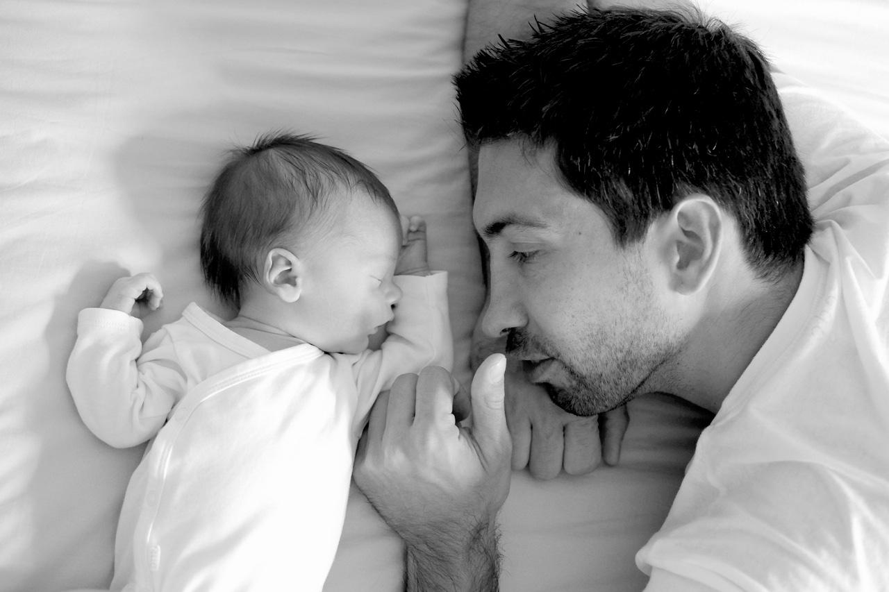 babyfotografie hamburg papa mit baby