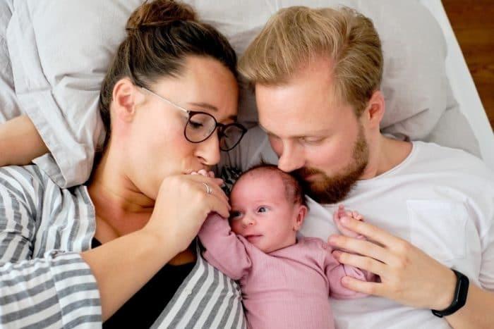 babyfotografie hamburg Baby mit Eltern