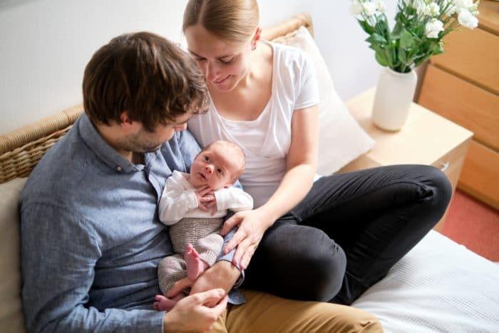 Natuerliche Babyfotografie Hamburg
