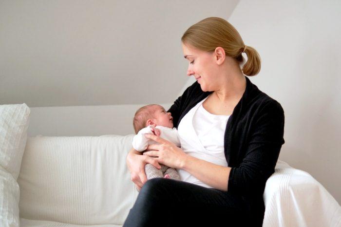 Foto Mama mit Baby